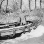 Surveying the Carantan Canal - 40th Battalion
