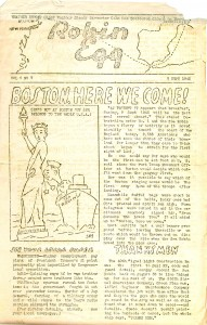 The Robin Egg - an on-board newsletter for the troops - this one dates from 9 Sept 1945. Download this issue of the Robin Egg!