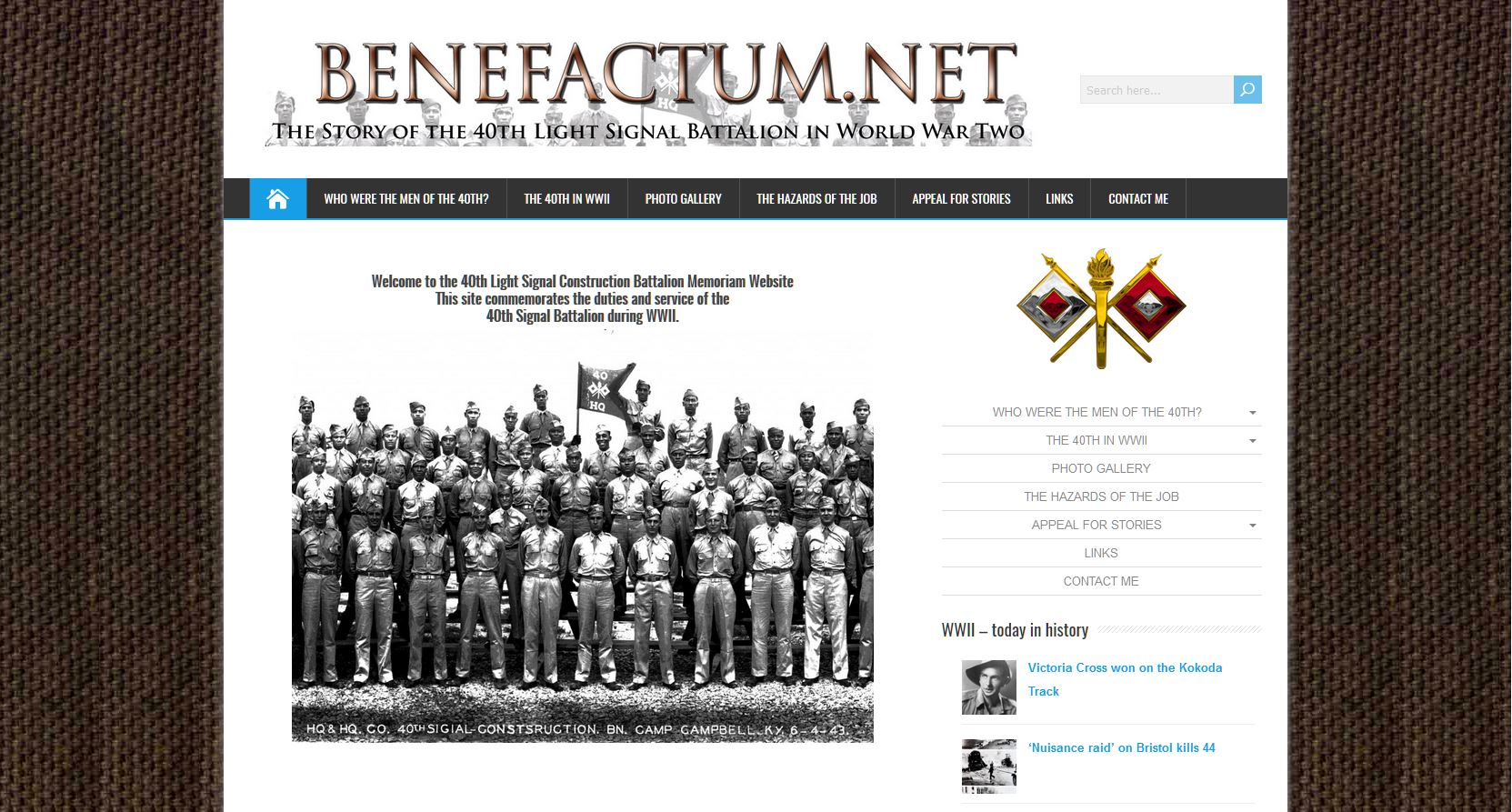 Benefactum net – Welcome to the 40th Light Signal